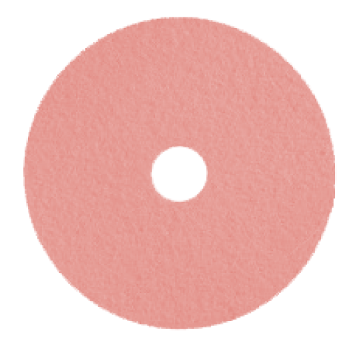 24in Pink Burnishing Pads