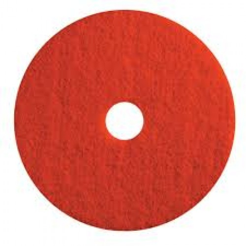 10in Red Buffing Pads