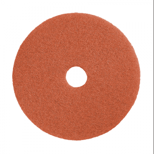 22in Peach - Burnishing, HS, Auto Scrubbing Pads